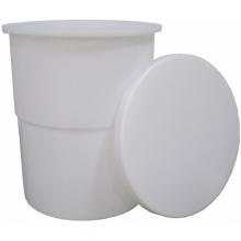 Cylindrisk Beholder med løst låg