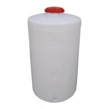 Cylindriske lukkede beholder med skruelåg